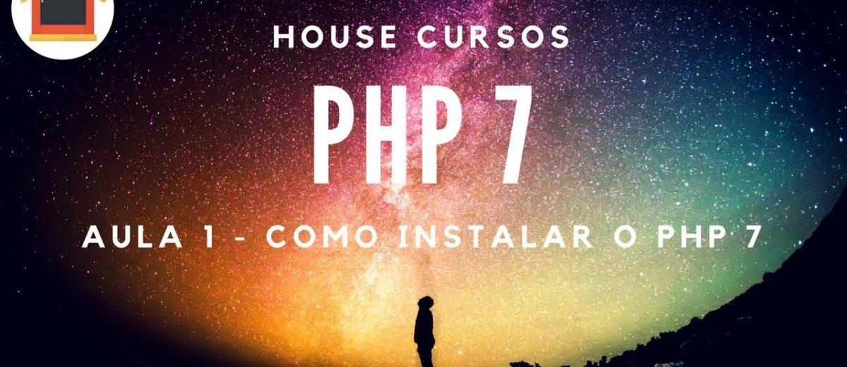 Vídeo – Como Instalar o PHP 7 usando o Lampp no Linux